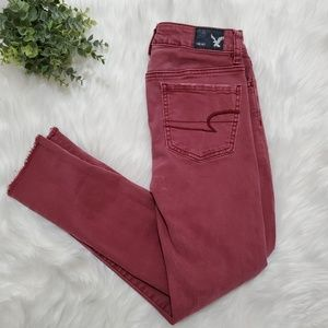 American Eagle Outfitters jeggin crop skinny jeans